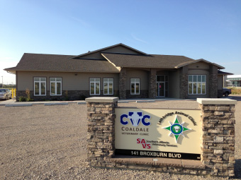 Coaldale Veterinary Clinic Location